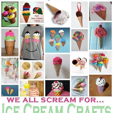 20 Cool Ice Cream Crafts