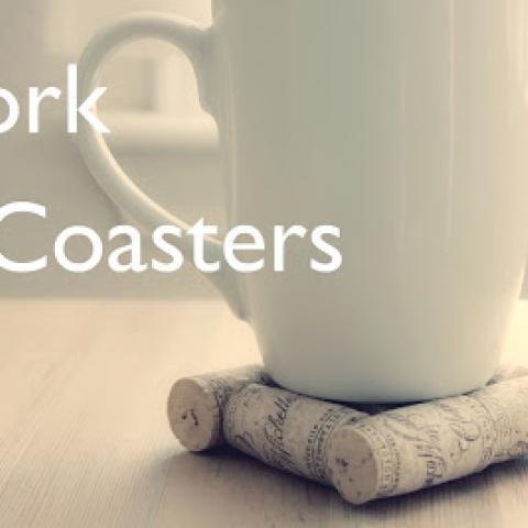Cork Coasters: Easy, Cheap Tutorial!