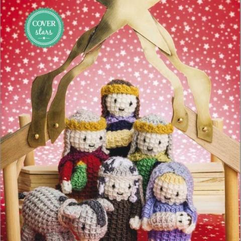 Crochet nativity: A set of sweet Christmas nativity characters