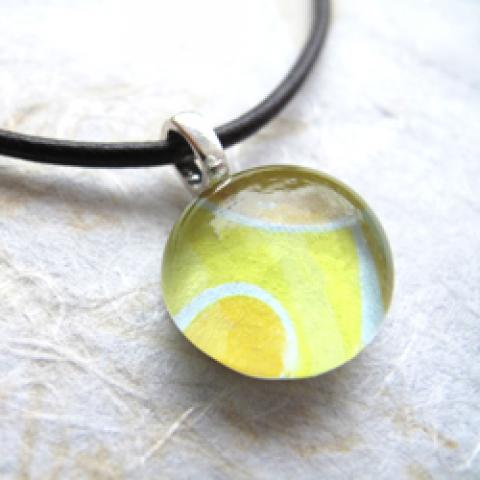 DIY Glass Cabochon Pendants
