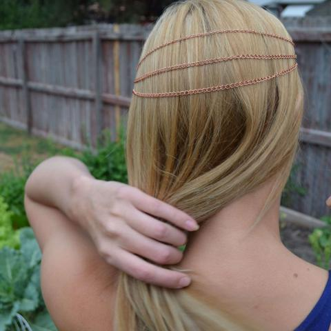 DIY Hair Chain