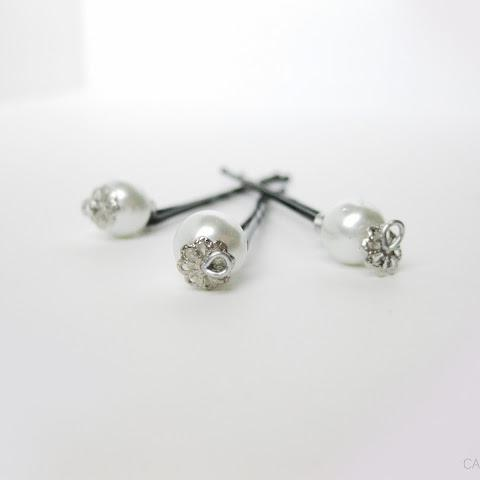 DIY Pearl Pins