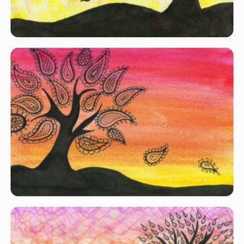 Easy Sunset Wall Art