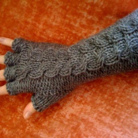 Edward Gorey Gloves by ModDessert on Etsy