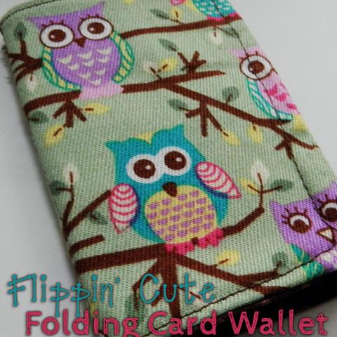Flippin Cute Folding Card Wallet