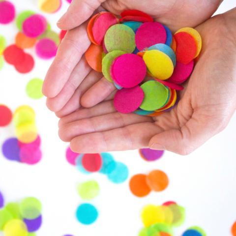 Make your own confetti