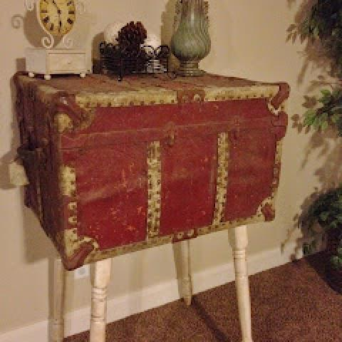 old trunk to table tutorial