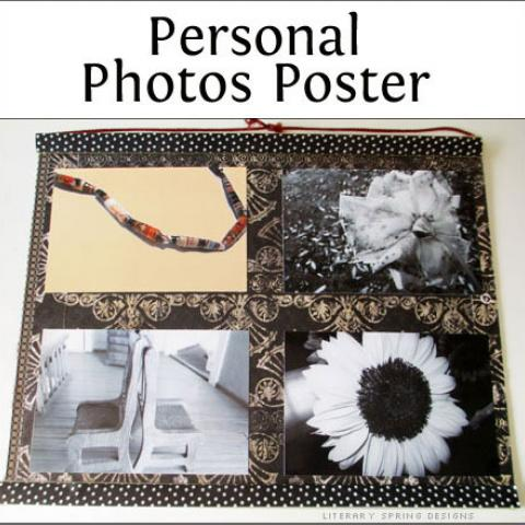 Personal Photos Poster