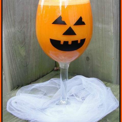Spooky Halloween Goblets