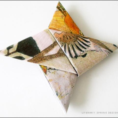 Stronger Origami with Mod Podge