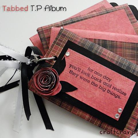 Tricky Tabbed TP Album Tutorial