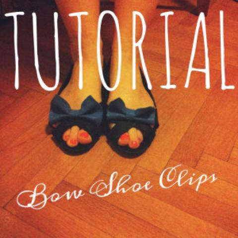 TUTORIAL: Bow Shoe Clips | Queen Lila-royalty crafts